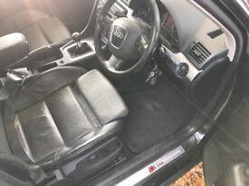 Audi A4 SLine estate leather