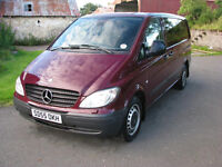 2005 Vito 115 Dualiner auto. One owner, high spec, long MOT, recent tyres, brakes & exhaust.