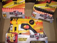 Nerf NiteFinder w/72 darts - New & Sealed