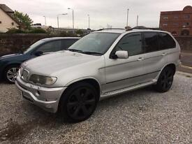BMW X5 3.0 diesel sport automatic 02 Reg 1 year mot tow bar springs fitted