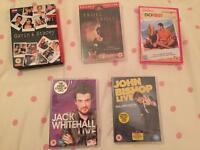 5 DVDs for sales