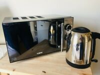 Tower Microwave (T24015) + Russell Hobbs Kettle (20071) RRP £75, 3mths old selling £50 cash