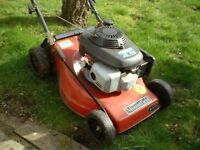 "Mountfield 14"" cut mower free to collect"