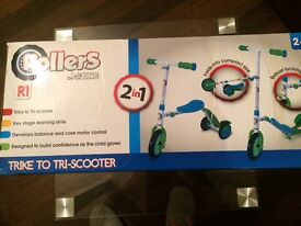 2 in 1 TRIKE-TRI SCOOTER