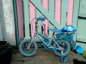 Disney princess cinderella bike