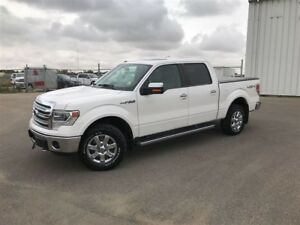 2014 Ford F-150 Lariat-PST PAID- V8- WHITE PLA