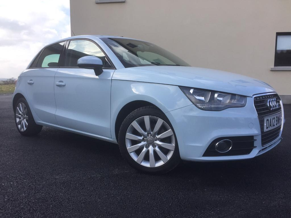 2012 audi a1 sport 1 6 tdi rare baby blue in lisburn county antrim gumtree. Black Bedroom Furniture Sets. Home Design Ideas