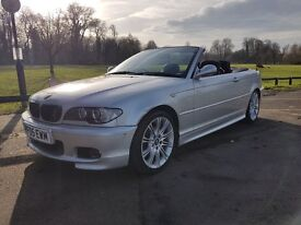 BMW 318Ci M Sport (2 litre) with Black Leather interior, FSH & NEW TIMNG CHAIN, MOT and 2 Keys.