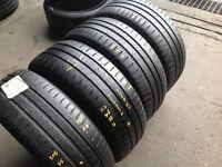 205/55/16 / part worn tyres x 4 / Michelin energy £85--