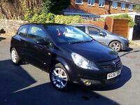 Vauxhall Corsa - 2007 - Black - 3DR -90K Miles - MOT - Quick Sale