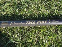 Shakespeare pole rod - Premier telescopic 6 metre length , 6 sections.
