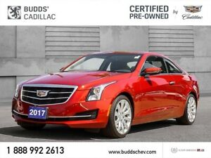 2017 Cadillac ATS 2.0L Turbo 2.99% for 60mths /OAC