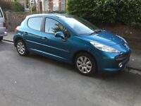 207 1.4 petrol Mplay , 07 reg low miles new bigger car , reason for selling new clutch , pre cats d