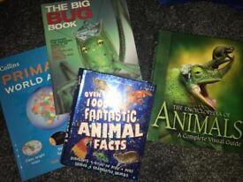 Kids factual books encyclopedia