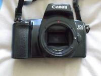 canon EOS 1000F camera sold as seen no lens no bag,in fairly good condition £20.00 ovno