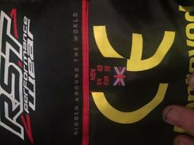 RST RACE LEATHERS