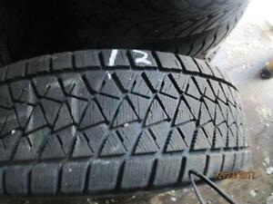 255/60R18  SET OF 4 USED BRIDGESTONE WINTER TIRES like new