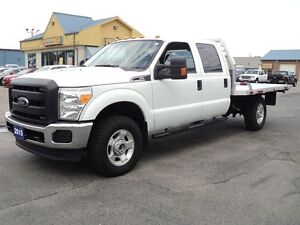 2015 Ford F-350 XLT CrewCab&Chassis 4X4 FlatBed