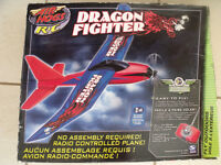 """radio controlled airoplane """"Dragon Fighter"""" - never used with instructions"""