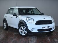 "MINI COUNTRYMAN 1.6 ONE [16"" Alloys, Bluetooth] 5DR [PEPPER PACK] (white) 2012"