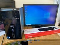 VFAST i7 8GB Dell XPS Desktop Massive 1TB(1000GB)Window10,Microsoft office,Ready