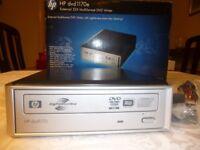 HP dvd 1170e multiformat DVD writer