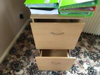 Two draw filing cabinet