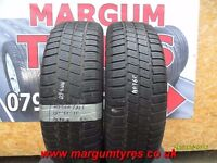 AA.360 2X 195/65/15 91T 2X6MM MABOR WINTER JET M+S - USED WINTER TYRES