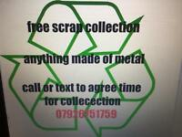 Free scrap metal collection Radcliffe bury. Prestwich Whitefield Ramsbottom Bolton ect