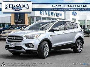 2017 Ford Escape Titanium1.9% Financing!!! Free Extended Warrant