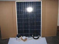 100W Solar Panel Kit for Caravan, Campervan, Motor Home. Delivery or Installation available