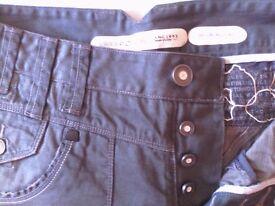Men's police skinny jeans. Size 32/34. Worn once