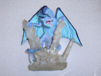 Large Ice Dragon from Land of the Dragon collection
