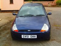 Ford KA. One lady owner, excellent service history, all old MOT's