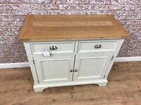 1m wide sideboard with storage cupboard