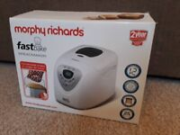 Morphy Richards Fastbake Bread Maker - Brand new - £30
