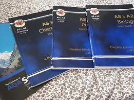 A-level Chemistry Physics & Biology revision guide