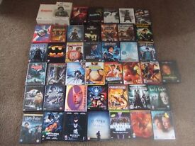 38 DVD FILMS AND 4 BOXSETS