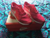 Nike pink Air Max Thea, women's UK size 4