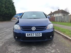 2007 (57) volkswagen golf plus 1.4 full service history, 12 months mot and 3 months warranty £2995