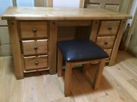 STUNNING solid oak dresser BELFAST NEWCASTLE can deliver if required, study kitchen bedroom