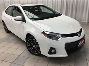 2016 Toyota Corolla S Technology Package *JUST 5,637 KM !*