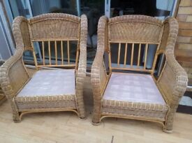 Wicker CHAIRS TWO