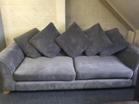 Grey sofa great condition