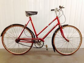 Pristine Raleigh heritage hub gears in complete Original condition