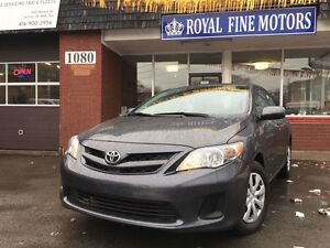 2013 Toyota Corolla CE,Full Power,Under Warranty, Accident Free