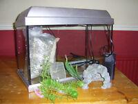 Glass fishtank