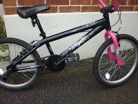 GIRLS APOLLO AWESOME BMX BIKE ! HARDLY USED