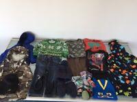 6 Boys Clothes Bundle Age 18-24 Mths, Gap, Polarn, Jeans, Jumper, Jackets, Pyjamas