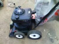 billy goat petrol vacuum hoover leaf hoovers